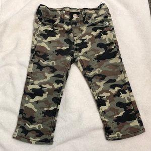 Infant True Religion camouflage pants